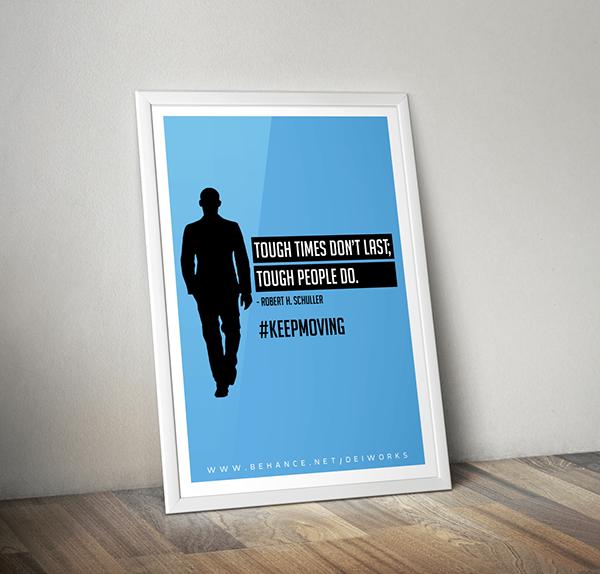 Inspirational framed posters