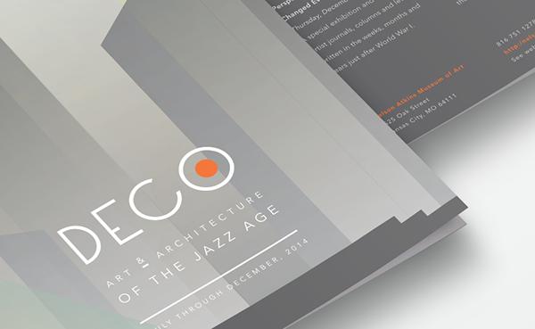 Art Deco Brochure Design