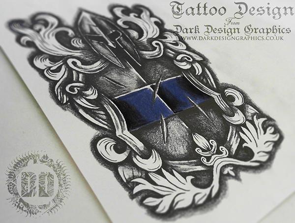 Tattoo Design From Dark Design Graphics On Behance