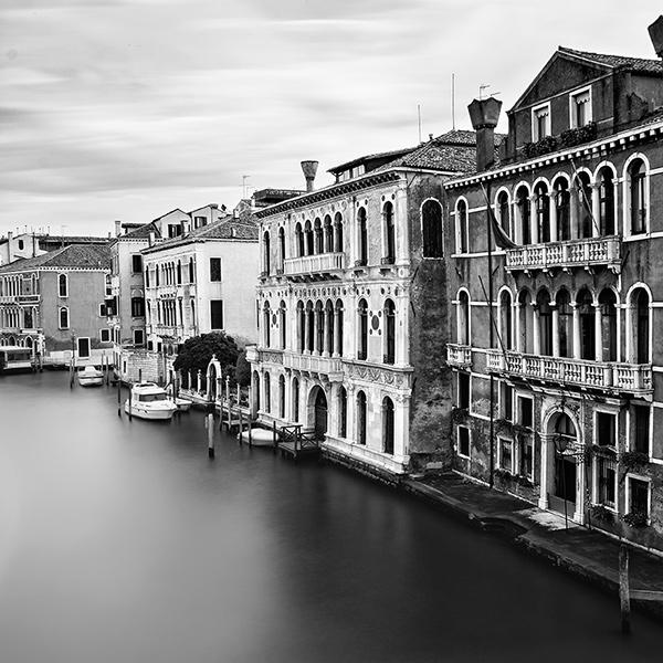 Venice  long exposure  bw  fine art photograpy