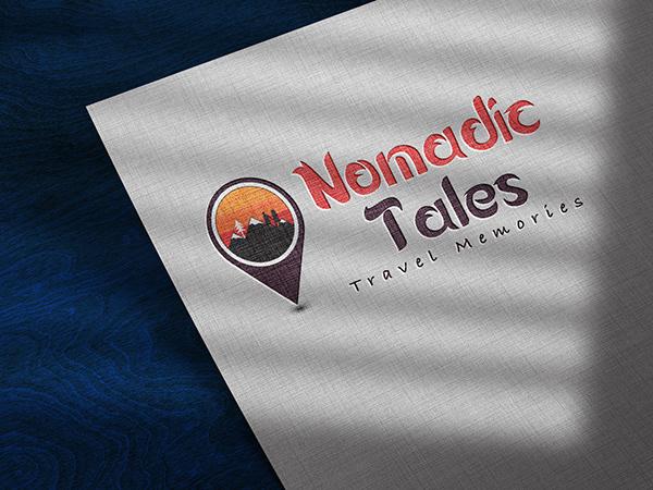 Nomadic Tales   Travel memory logo