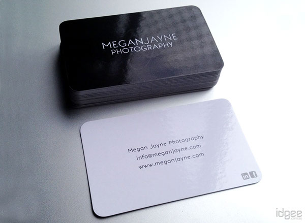 Business Cards design Printing paper stock