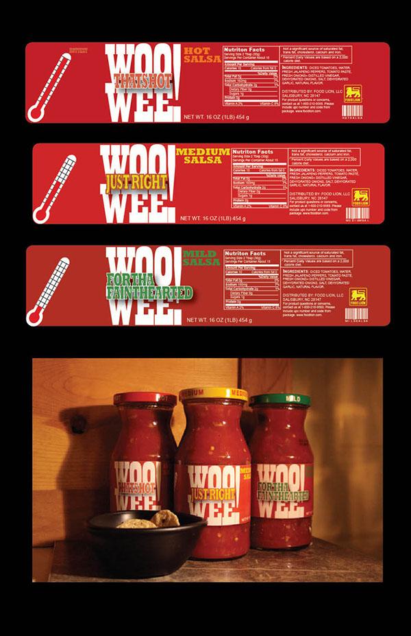 Food Lion salsa Identity Design