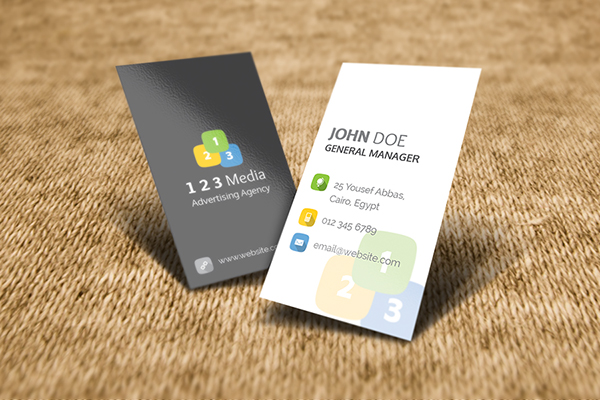 realistic business card mockup on behance