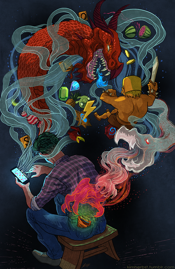Mobile Games by Kim Herbst