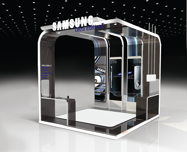 Samsung Exhibition Stand Design : Samsung young designer award on behance
