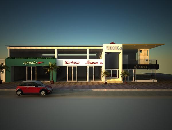 Galer a comercial calle 120 on behance - Galeria comercial ...
