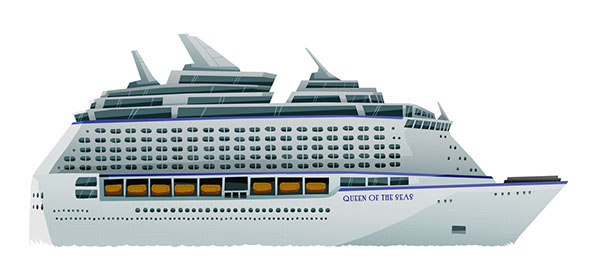 The Unfinished Pitch On Behance - Animated cruise ship