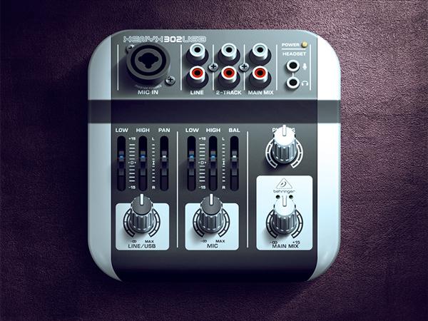 texture Russia Moscow design shadow light mixer button app Icon ios