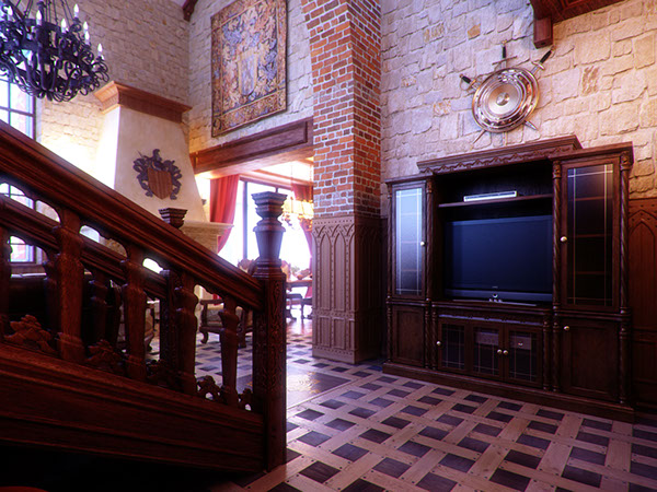 Interior Rendering Private Residence Gothic Castle On Behance