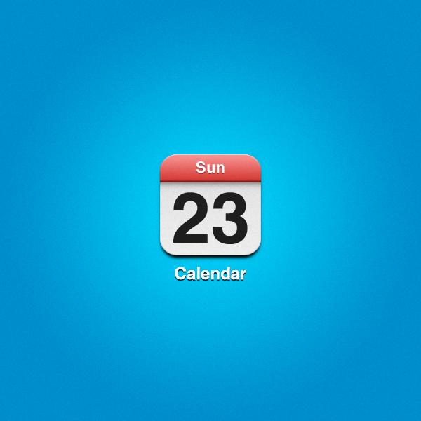 Ipad Calendars Ipad Calendar Icon   Free Psd