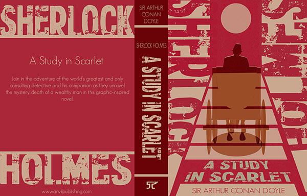 Book Cover Design Research : A study in scarlet book cover designs on behance