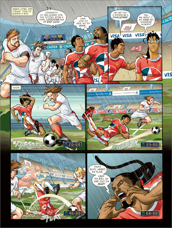 Supa Strikas Comic Pdf