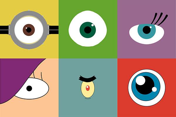 1 Eyed Cartoon Characters : One eye on behance