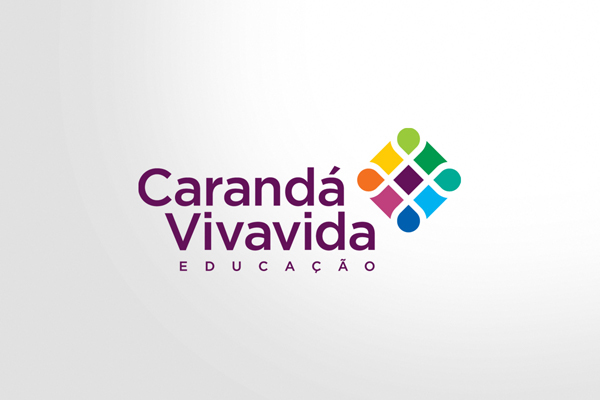 school  caranda vivavida  logo colorful escola kids