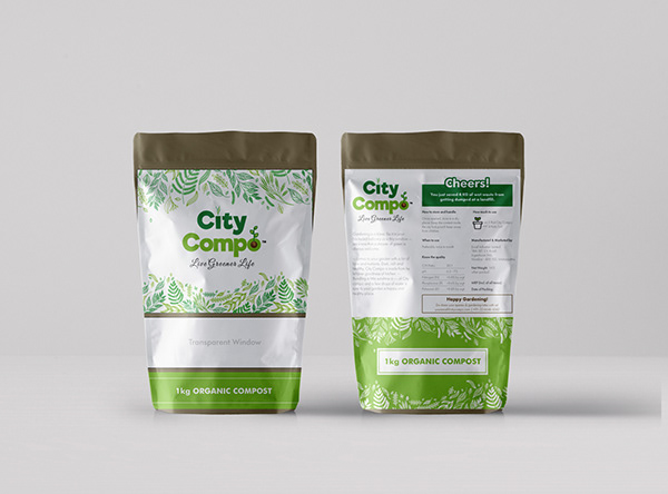 Packaging Design for City Compo