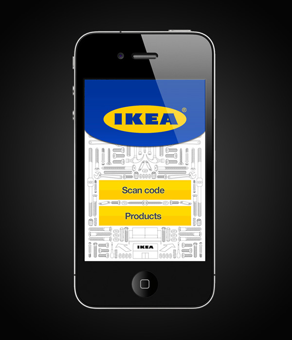 Ikea instructional iphone app on behance for Ikea design app