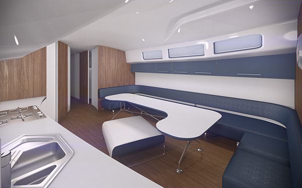 Small boat interior ver 20 on Behance