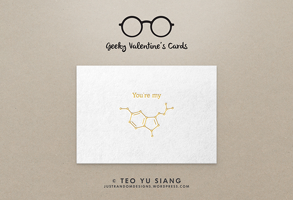 And What Better Way To Say U201cYou Make Me Happyu201d Than With The Beauty Of An  Organic Chemistry Structure?