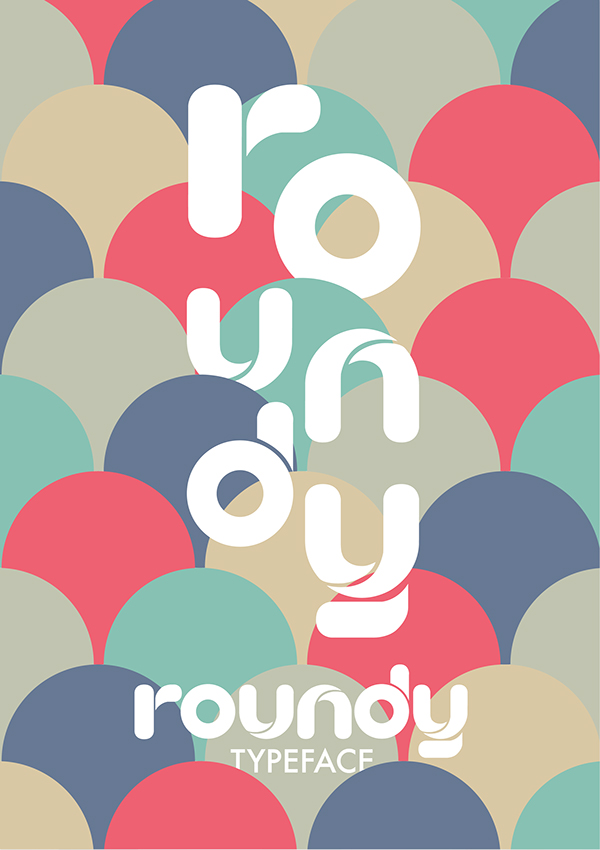 Typeface font type poster typographic words vector design modern