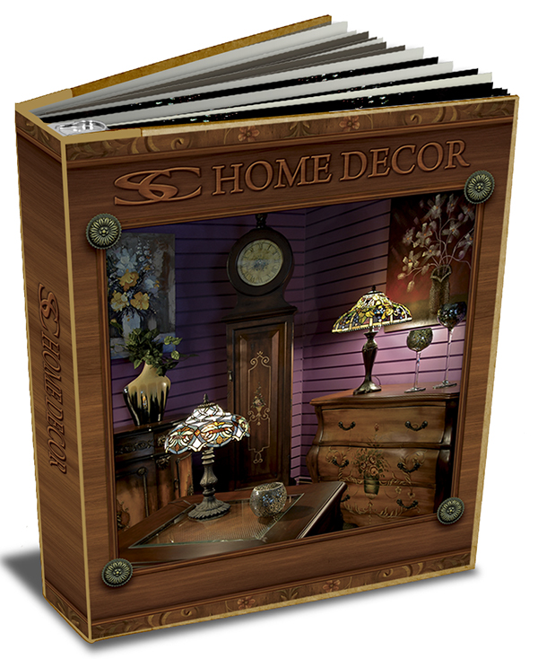 SC Home Décor Wholesale Catalog Binder On Behance