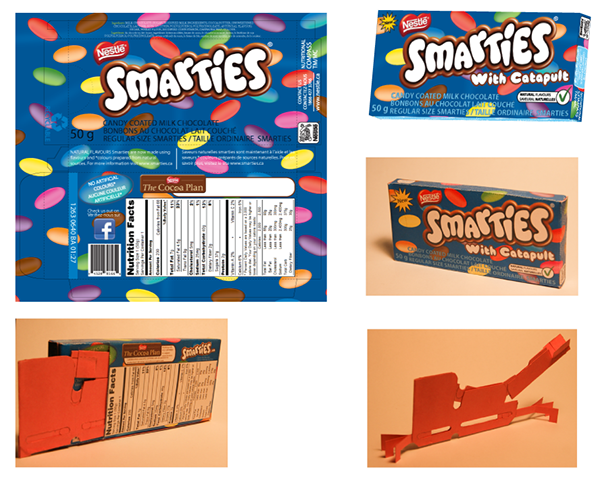 Smarties Package Design on Behance Smarties Box Design