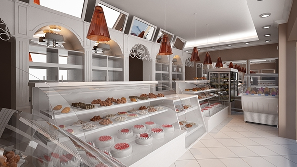 Cake House Interior Design : THE CAKE SHOP on Behance
