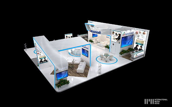 Exhibition Booth Area : Higher colleges of technology umex dubai on