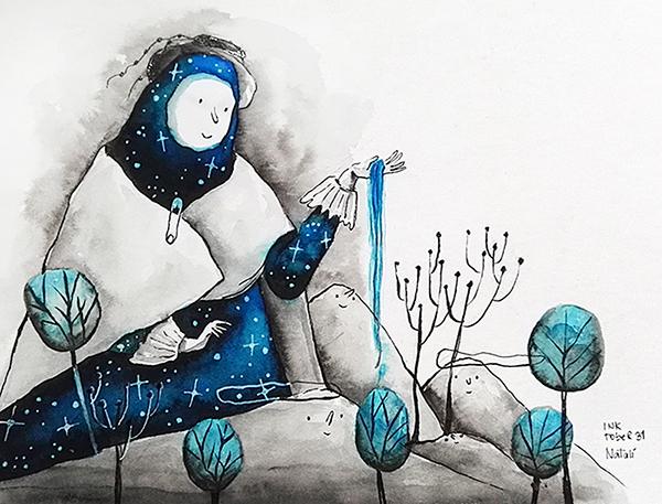 Inktober 2016 by Natalí Sejuro Aliaga