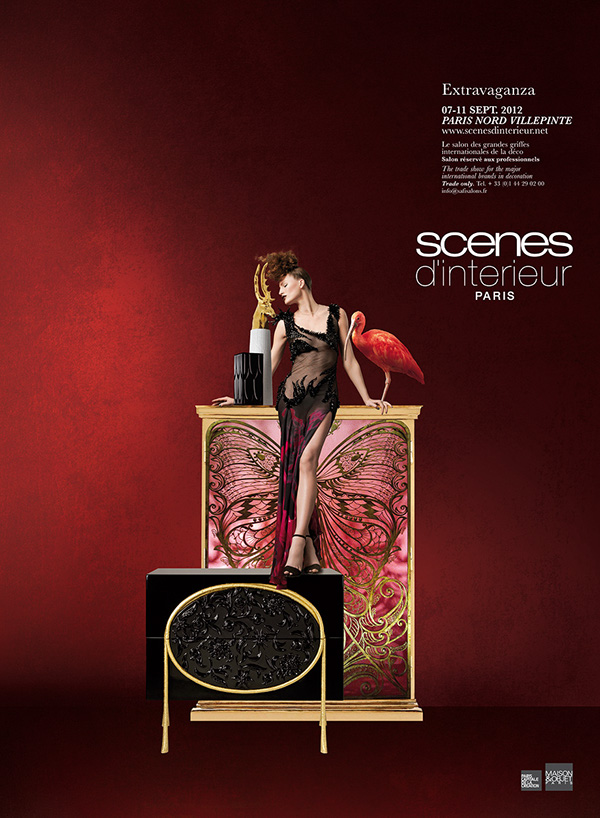 sc nes d 39 int rieur on behance. Black Bedroom Furniture Sets. Home Design Ideas