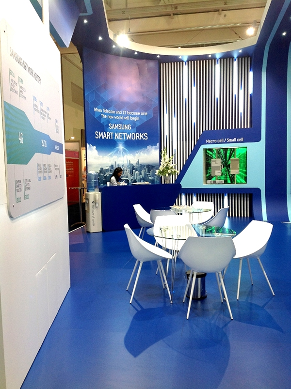 Sungard Exhibition Stand Lighting : Samsung at africacom on behance