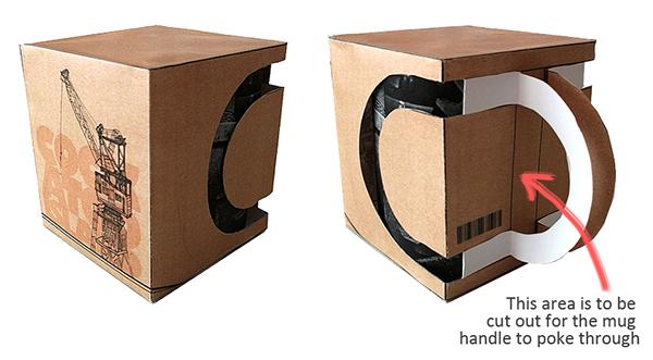 Cockatoo Island Mug Packaging On Behance