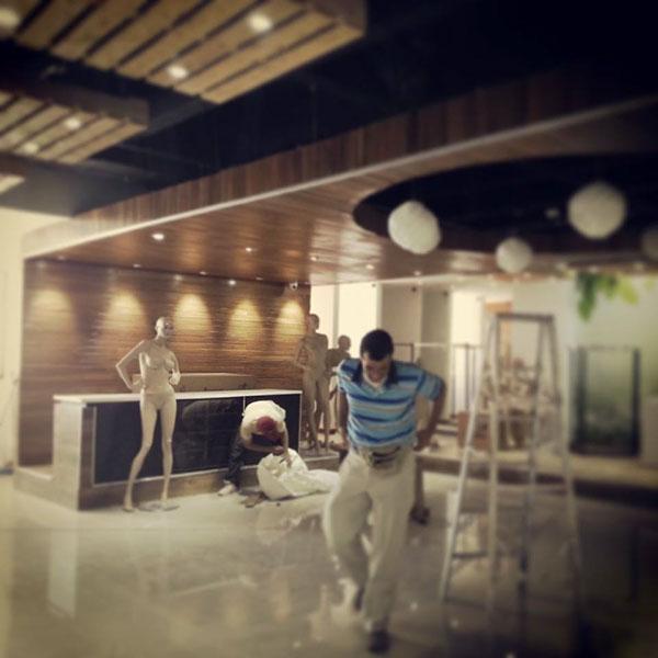 Render 3D Interior tienda boutique