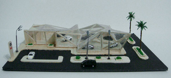 Car Showroom Architecture Model And Plan On Behance