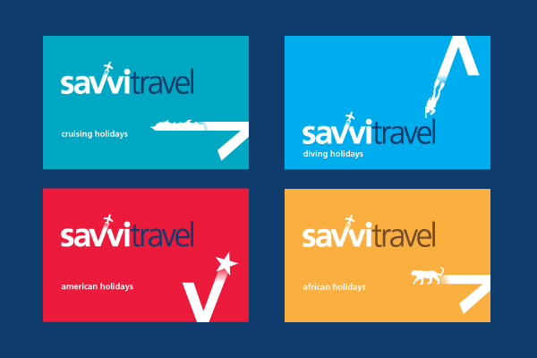 Develop The Identity And Assisting Collateral For An Online Travel Agency That Offers Worldwide Holidays