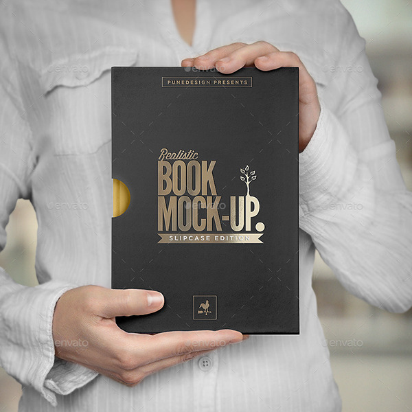 Book Cover Graphicriver : Book mock up slipcase edition on behance