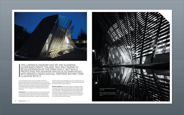 modern design magazine 13 on behance
