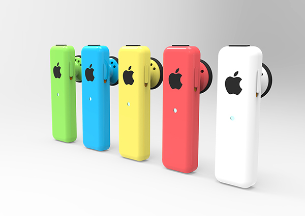 IPhone 5s Amp 5c Bluetooth Headsets On Industrial Design Served
