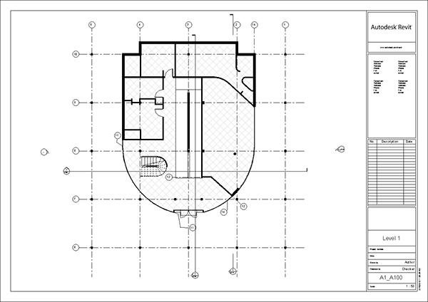 Villa savoye revit model le corbusier 2014 update on behance for Villa plan dwg