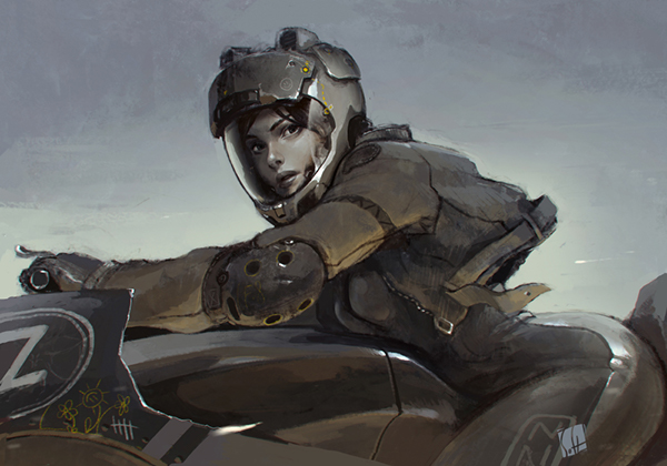Riders by Eugene Lizin