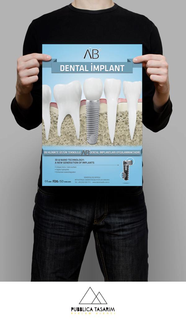 AB Dental Implant (Bursa) Poster Design on Behance