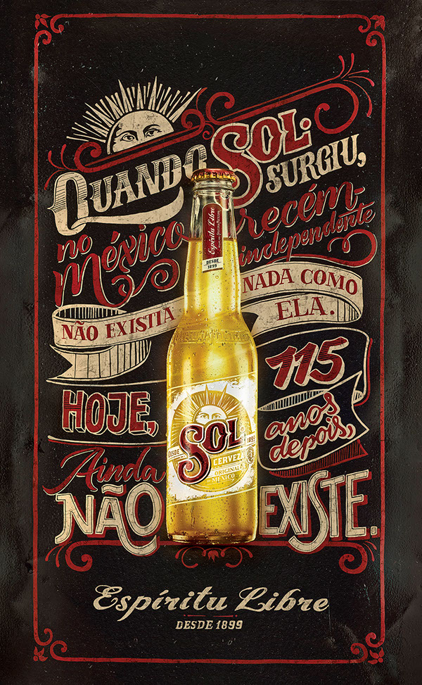 SOL Beer – Chalk and Sign Painting