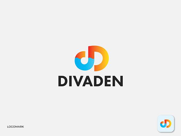 DD logo, Modern D logo