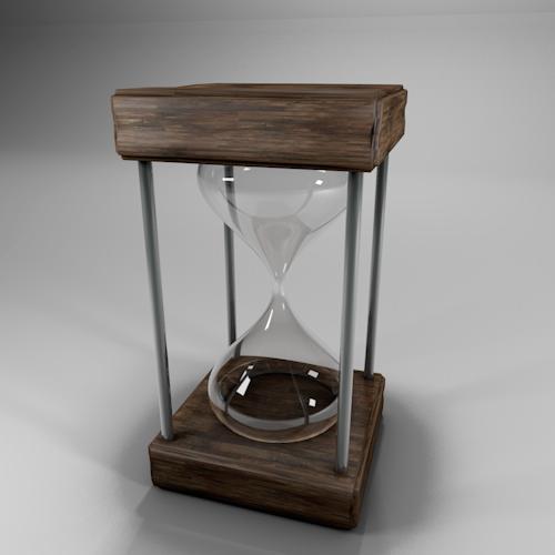 cinema 4d realistic hourglass hourglass Render