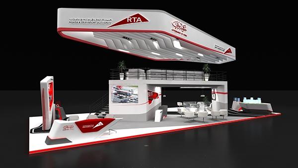 Exhibition Stand Designer Jobs In Dubai : Rta dubai stand on behance