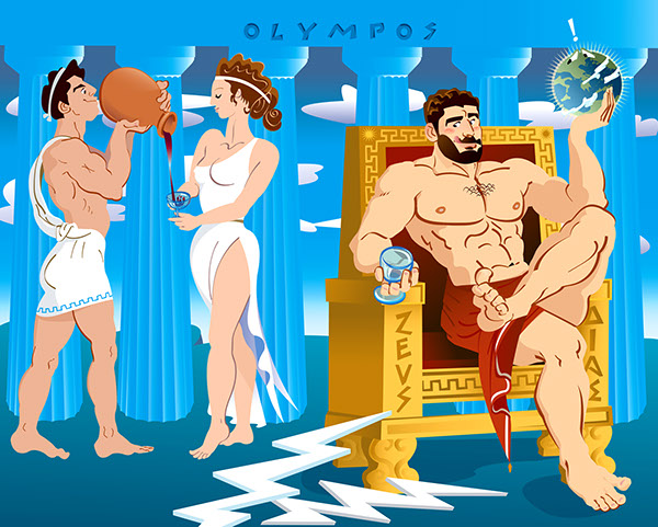 Athena Greek Myths Zeus Athena
