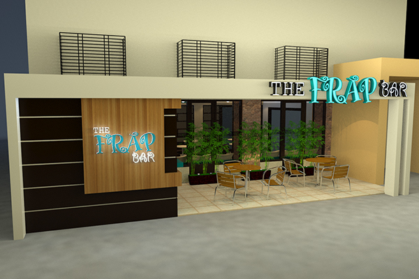 The Frap Bar Cafe Interior and Exterior Design Proposal on ...