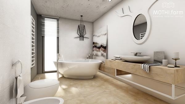 Scandinavian Bathroom ~ On Behance