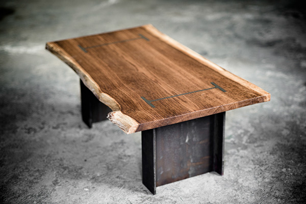 I Beam Coffee Table On Behance