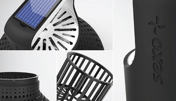 seko moisture absorber on industrial design served. Black Bedroom Furniture Sets. Home Design Ideas
